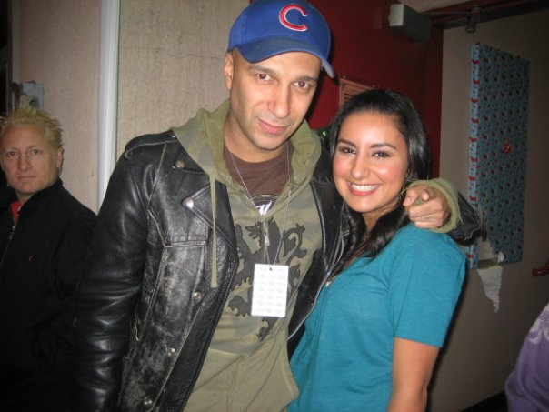 sarah with tom morello