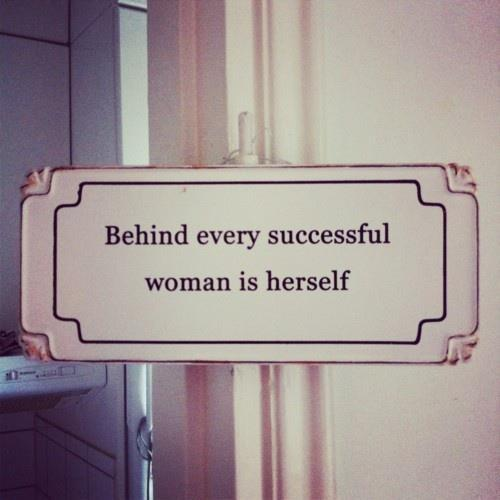 every successful woman
