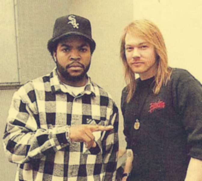 ice cube and axl