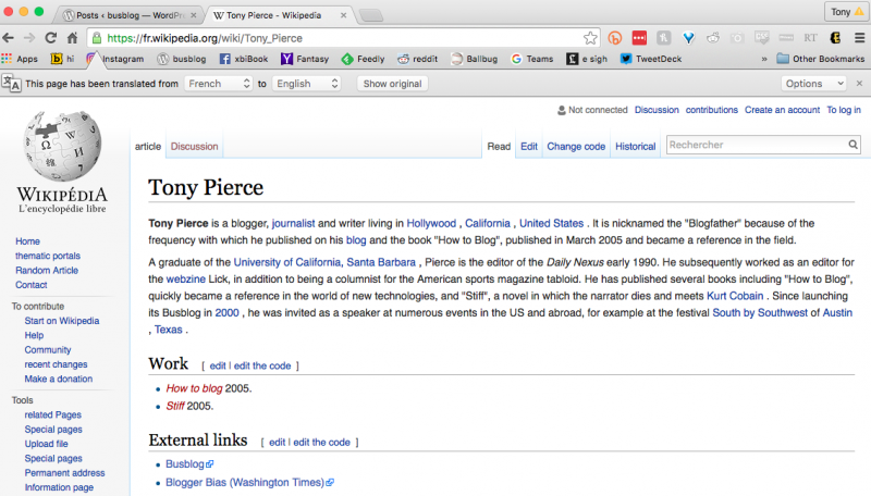 french wikipedia tony pierce