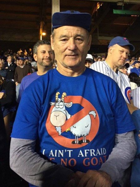 bill murray i aint afraid of no goats